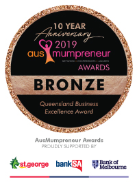 Broze Winner Ausmumpreneur
